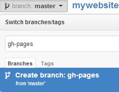 github branches